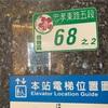 台北市の住所表示