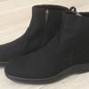 雨の日に履ける防水かつ普段履きもできるデザインの「トップドライ」を購入