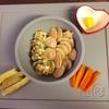 お野菜からの離乳食  [160日目  大麦パンケーキ]