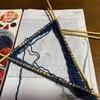 編み物しながら全日本フィギュアみてます♪