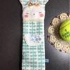 テニスラケットのグリップカバー・クマさん(ベージュ)