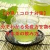 【必見!コロナ対策】5分でわかる免疫力を高める日本茶の飲み方