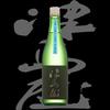 津島屋、純米吟醸、八反錦は滑らかな主旋律と深みあるベースライン