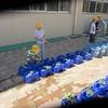 大放課:植物に水やり