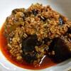 肉味噌を使って『麻婆茄子』♪ピリ辛で茄子はとろとろ、お箸が進む!