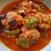 三種肉団子のトマト缶煮