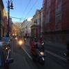 サンタ Biker in Kraków