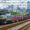 8月18日撮影 東海道線 平塚~大磯間 久々に地元で貨物列車撮影 ①