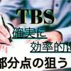 TBS対策と部分点の取り方