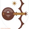 リュートの紋章。真横にしたのは。