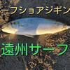 サーフショアジギング 遠州サーフ2020 ヒラメ ワラサを求めて 釣行記