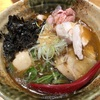 475. 焼きあご塩らー麺@たかはし(新宿/上野など):あごだしを中心とした魚介系と動物系のバランスが絶妙!上品なWスープ系和風ラーメン!
