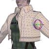 MMD人体モデル・ジャケット部分破綻防止用簡易補助ボーン追加中