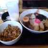 札幌市豊平区美園 ラーメン仁の蔵 らー丼定(あっさり醤油セット)