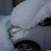 愛車の救出は成功しましたが、強烈寒波が再来