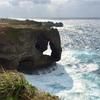 沖縄旅行2017⑥象さん岩で有名な「万座毛」