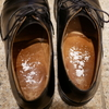 革靴の臭い対策:グランズレメディの代用品、焼きミョウバンで消臭しましょう。