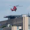 2019年9月7日(土) レッドブルエアレースに行かずに都内の病院ヘリポートでヘリコプターを待った話