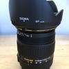 SIGMA 17-50mm F2.8 EX DC OS HSM買った!