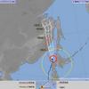 【台風情報】台風21号は5日05時現在礼文島の南南西約160kmにあって中心の気圧は975hPa!5日09時には温帯低気圧に変わる見込みだが、北海道地方を中心に暴風・高波・大雨に警戒!!