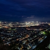 潮見台からの夜景 2021.1.22