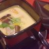 あったかーい地鶏卵の茶碗蒸し登場 三宮地鶏料理店安東