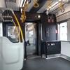 相鉄線9000系 リニューアル車両 車いすスペース