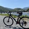 サイクリング 桂川サイクリングロードと嵐山
