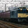 1月21日撮影 東海道線 平塚~大磯間 貨物列車 E217系