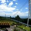 【三島スカイウォーク】日本最長の吊り橋行ったが怖すぎて景色を見る余裕なかった