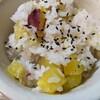 「サツマイモの炊き込みご飯」をバーミキュラで作ってみた。