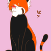 【蜂に刺された】猫