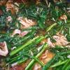 豚肉もやしニラ鍋