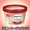【ハーゲンダッツ】【ヨーグルト仕立てピーチミルク味】『発売前』で意見対立!