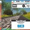 FTP244W@ZWIFT Ramp Test