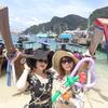 日本語ガイド同行プランで行く大型船ピピ島ツアー☆