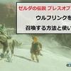ゼルダの伝説ブレス オブザ ワイルドで「リンクウルフ」を召喚する方法とその使い方!【何ができるの?】