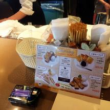 ★JR京橋駅ホームの喫茶