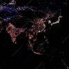 宇宙から見た地球の夜景、日本が世界一明るいのはLEDの光。
