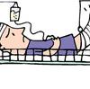 原因不詳の炎症と発熱で、緊急&強制入院