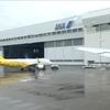 【羽田空港】A滑走路→格納庫前→連絡誘導路→D滑走路に向かうBoeing 777-246 から見える景色