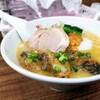 【2月の営業案内あり】「ウニ麺(かき増し)」麺や 福座 (ふくぞ)