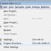IntelliJ IDEA 開発環境構築・設定メモ(Java JDK連携)