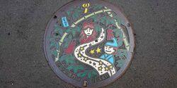 東京都福生市のマンホール
