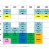 GWと5月からの新クラススケジュールです!