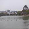 【写真複製・写真修復の専門店】広島城 お天気修正  広島市