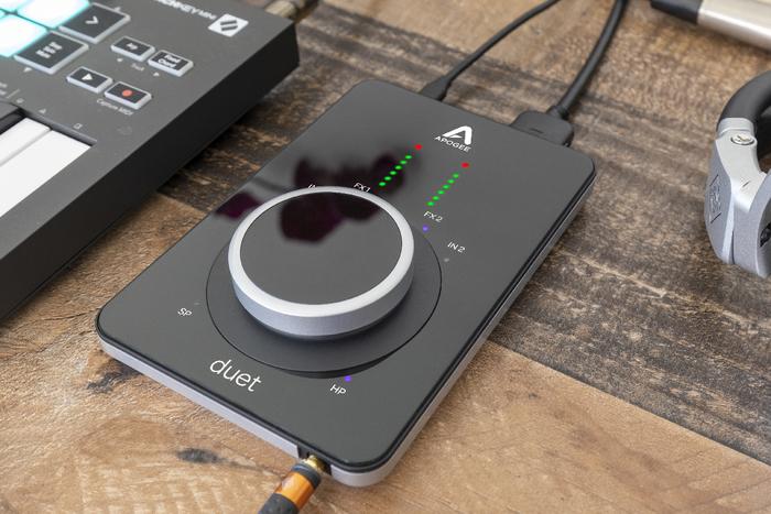 APOGEE、DSP内蔵のUSBオーディオ・インターフェースDuet 3発表。別売りドックも用意