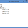 WPF4.5入門 その25 「TreeViewコントロール その1」