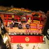 七尾市の青柏祭へ夜に行ってきた