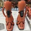シャア専用ザクⅡの脚を作成しました。